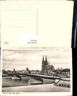 581253,Foto Ak Köln A. Rhein Neue Brücke - Brücken