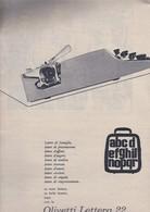 (pagine-pages)PUBBLICITA'  OLIVETTI     Tempo1958/21. - Libri, Riviste, Fumetti