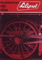 KAT270 Modellbahnkatalog LILIPUT H0 Und H0e, 1971, Neuwertig, Deutsch - Englisch - Französisch - Littérature & DVD