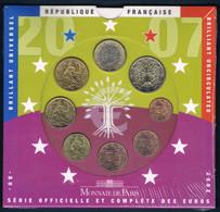 FRANCE COFFRET BU 8 MONNAIES EURO 2007 - Frankrijk