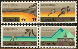 CANADA, 1978, Mint Never Hinged Stamp(s), Commonwealth Games,  Michel 698-701, M5690 - 1952-.... Reign Of Elizabeth II
