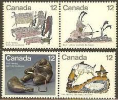 CANADA 1977 MNH Stamp(s) Inuit Hunting 676-679 #5677 - 1952-.... Règne D'Elizabeth II