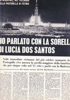 (pagine-pages)FATIMA  Settimanaincom1958/14. - Libri, Riviste, Fumetti