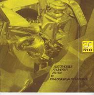 KAT275 Modellprospekt RIO Italy - Automobile Früherer Zeiten, Neuwertig, Deutsch, 9 Seiten - Littérature & DVD