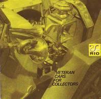 KAT276 Modellprospekt RIO Italy - Automobile Früherer Zeiten, Neuwertig, Deutsch, 9 Seiten - Littérature & DVD