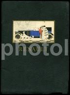 C 1920 RARE Original Car VOITURE AUTOMOBILES RENAULT FRANCE Oldtimer Brochure PROSPEKT - Coches