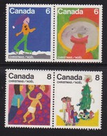 CANADA 1975 MNH Stamp(s) Christmas 610=615 # 5646, $ Va;uesonly, Thus Not Complete - 1952-.... Reign Of Elizabeth II
