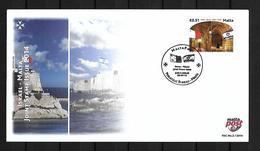 2014 Joint Malta And Israel, FDC MALTA WITH 1 STAMP: Relationship - Emissions Communes