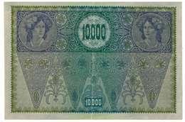 IMPERO AUSTRO UNGARICO - ANNO 1918 - 10.000 KRONEN - QUALITA' B - SERIALE 15374 - 1337 - WYSIWYG - Austria