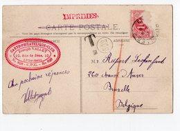 CARTO-PHILATHELIQUE-CLUB (CPC) - Membre N° 828 Joseph VALLET, 10 Rue De Sèze - LYON Croix-Rousse - école Normale - Cartes Géographiques