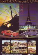 KAT283 Modellbau Infoblatt HERPA Info 10/1979, Deutsch, Neu - Littérature & DVD