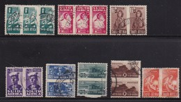 SOUTH AFRICA UNION 1942 Used Pair Stamps War Effort Smaller Issue Nrs. 153-166, #12111 - South Africa (...-1961)