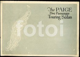 1923 ORIGINAL THE PAIGE TOURING SEDAN AMERICAN CAR SALES PROSPEKT FOLDER BROCHURE USA - Coches