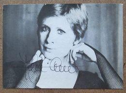 (K194) - Carte Dédicacée De Ann Christy  / RKM Fernand Neuraystraat 8 1060 Brussel Ixelles - Autographes