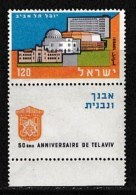 ISRAEL, 1959, Mint Never Hinged Stamp(s), 50 Years Tel Aviv,  SG 160,  Scan 17046, With Tab(s) - Israel