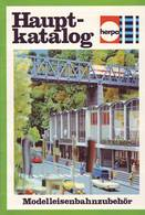 KAT287 Modellbahnkatalog HERPA Modellbahnzubehör Hauptkatalog 1978, Neu - Littérature & DVD