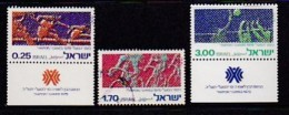 ISRAEL, 1975, Used Stamp(s), Without Tab, Hapoel Games, SG601-603, Scannr. 17455 (mixed) - Israel