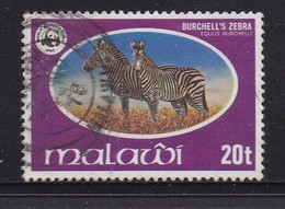 MALAWI 1978 Used  Stamp(s)  WWF Nature Protection 1 Value Only Zebra Nr. 299 - Malawi (1964-...)