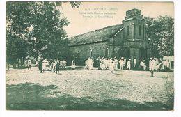 CPA.Soudan.Ségou. Eglise De La Mission .Sortie De La Grand'messe  (F.191) - Soudan