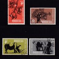 RHODESIA 1966 Used Stamp(s) Rhopex 38=38-41 - Rhodesia (1964-1980)