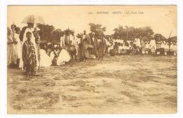 CPA.Soudan.Ségou. Un Tam-Tam.  (F.195) - Soudan