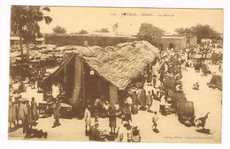 CPA.Soudan.Ségou. Le Marché.     (F.197) - Soudan