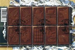 LE CHOCOLAT  - Oblitération 1er Jour - Sheetlets