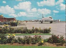 CPM   : Aviation  Commerciale Port Aérien  Aéroport De Ostende MiddelKerke Raversijde - 1946-....: Era Moderna