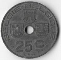Belgium 1946 25 Centimes (Dutch First) [C820/2D] - 01. 10 & 25 Centimes