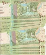 SUDAN 200 POUNDS 2019 P-NEW LOT X20 UNC NOTES  */* - Sudan