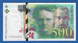 500 Fr  1994 - 1992-2000 Last Series
