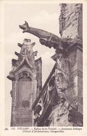FECAMP Eglise De La Trinité Détail D'Architecture Gargouille ( Cap 122 ) - Fécamp