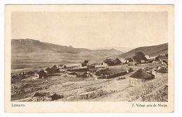 CPA.Afrique.Lessouto (Lesotho) Village Près De Morija    (F.209) - Lesotho