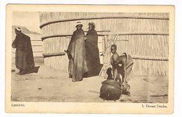 CPA.Afrique.Lessouto (Lesotho) Devant L'enclos.  (F.211) - Lesotho