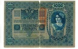 IMPERO AUSTRO UNGARICO - ANNO 1902 - 1000 KRONEN - QUALITA' B - SERIALE SERIE - 1801 WYSIWYG - Austria