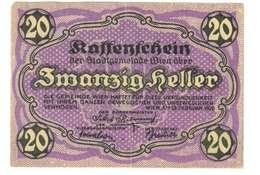 IMPERO AUSTRO UNGARICO - ANNO 1920 - 20 HELLER - QUALITA' B - NO SERIALE  WYSIWYG - Austria