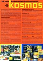 KAT297 Alter Spielwarenprospekt Von KOSMOS, 1974, Deutsch, Gefaltet. - Littérature & DVD