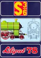 KAT298 Modellbahnprospekt Liliput 1978, S 3/6, Neu, A4, 4-seitiger Farbdruck, Deutsch - Littérature & DVD
