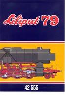 KAT300 Modellbahnprospekt Liliput 1979, 42555, S 3/6-Modelle Mit ÖBB Und DR-Beschriftung, Neu - Literature & DVD