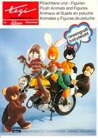 KAT301 Modellprospekt Hegi Plüschtiere Und Figuren, Neuheiten 1973, Neu - Littérature & DVD