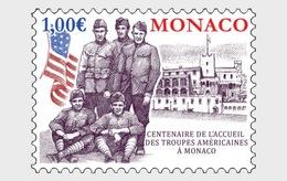 H01 Monaco 2019 Cetenary Of Us Troops' Convazlescence In Monaco MNH Postfrisch - Monaco