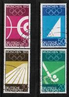 GERMANY  Scott # B 446-9 VF USED (Stamp Scan # 471) - [7] Federal Republic