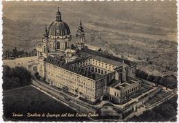 Torino, Basilica Di Superga Dal Lato Lapide Caduti, Unused Postcard [23077] - Churches