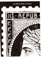 """BLOC CADEAU DU TIMBRE Type CERES 1849  // """" 20c-CECI N'EST PAS UN TIMBRE     """" N° 1 Sur 4 ( 1° Trimestre 2019 ) - 1849-1850 Cérès"""