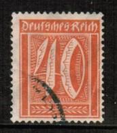 GERMANY  Scott # 166 VF USED (Stamp Scan # 471) - Germany