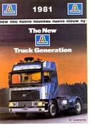 KAT309 Modellbauprospekt ITALERI, Neuheiten 1981, Englisch - Literature & DVD