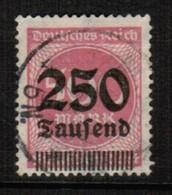 GERMANY  Scott # 260 VF USED (Stamp Scan # 471) - Germany