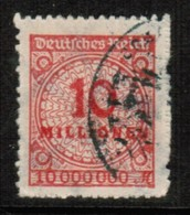 GERMANY  Scott # 301 VF USED (Stamp Scan # 471) - Germany