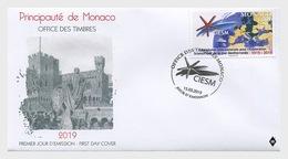 H01 Monaco 2019 Centenary Of The Ciesm FDC - Monaco