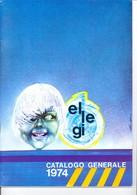 KAT317 Modellprospekt ELLEGI Catalogo Generale 1974, 24 Seiten, Viersprachig - Littérature & DVD